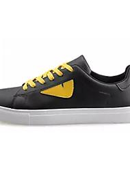 povoljno -Muškarci Cipele PU Ljeto Udobne cipele Sneakers Obala / Crn