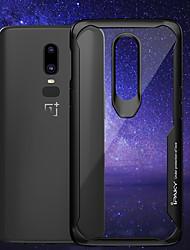 billiga -fodral Till OnePlus OnePlus 6 Stötsäker / Genomskinlig Skal Enfärgad Mjukt Silikon för OnePlus 6 / One Plus 5 / OnePlus 5T