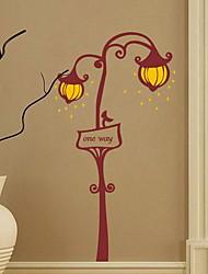 Недорогие -Декоративные наклейки на стены - Простые наклейки Геометрия Гостиная / Спальня