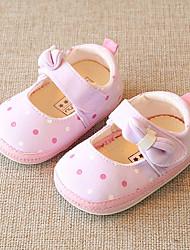 cheap -Girls' Shoes Fabric Spring & Summer Comfort Sneakers for Light Yellow / Light Purple / Light Blue