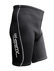 abordables -SLINX Hombre Pantalones cortos de neopreno 2mm Neopreno Prendas de abajo Secado rápido, Transpirable Buceo Moda Primavera / Verano / Elástico