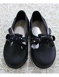 baratos -Para Meninas Sapatos PVC Verão Conforto / Plástico Sandálias para Preto / Amarelo / Marron