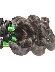 cheap -Indian Hair / Body Wave Body Wave Virgin Human Hair / Remy Human Hair Human Hair Extensions Human Hair Weaves Soft / Smooth / Hot Sale