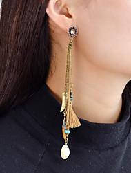 cheap -Women's Tassel Drop Earrings - Tassel / Fashion Brown Drop / Shell Earrings For Daily / Date