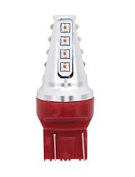 preiswerte -1 Stück T20 / T20 (7440,7443) Auto Leuchtbirnen 80W 2800lm 16 LED Blinkleuchte For Universal Alle Modelle Alle Jahre