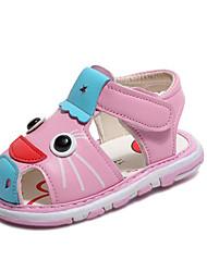 preiswerte -Mädchen Schuhe PU Sommer Komfort Sandalen für Gelb / Blau / Rosa