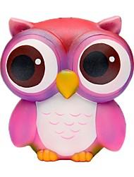 Недорогие -Резиновые игрушки / Устройства для снятия стресса Сова Товары для офиса / Декомпрессионные игрушки Others 1pcs Детские Все Подарок