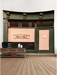 baratos -Tema Jardim Arquitetura Decoração de Parede Poliéster Moderna Arte de Parede, Tapetes de parede Decoração