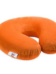 Недорогие -Комфортное качество Запоминающие форму подушки для шеи Стрейч / Надувной подушка Пена с памятью Хлопок