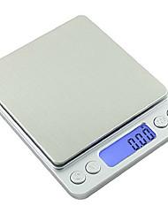 abordables -Outils de cuisine ABS Solidité Portable Usage quotidien Poudre Balance 1pc