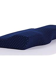 Недорогие -Комфортное качество Запоминающие форму тела подушки / Подголовник удобный подушка Пена с памятью Хлопок