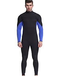 cheap -MYLEDI Men's Full Wetsuit 3mm Neoprene Diving Suit Thermal / Warm Long Sleeve Back Zip - Swimming / Diving / Surfing