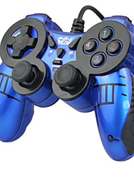cheap -WE-816 Wired Game Controllers For PC Vibration Game Controllers ABS 1 pcs unit USB 2.0