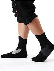 baratos -Esportes Relaxantes / Basquete / Exercicio Exterior Meias / Meias Finas Anti-Roupa / Anti-derrapagem Algodão