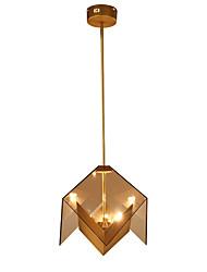 cheap -LightMyself™ 3-Light Geometric Pendant Light Ambient Light 110-120V / 220-240V Bulb Included / G9 / 10-15㎡