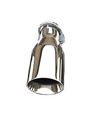 povoljno -1 komad 54mm Savjeti za ispušne cijevi nesavijen Nehrđajući čelik Ispušni Mufflers For Univerzális Svi modeli Sve godine