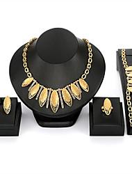 Недорогие -Жен. Комплект ювелирных изделий - Винтаж, Мода, Крупногабаритные Включают Золотой Назначение Ночь и особый случай Маскарад