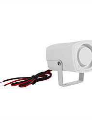cheap -SH-201 Mini Horn Alarm Siren 120db Sound Alarm DC 12V Wired Indoor Siren for Home House Alarm System