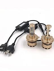 Недорогие -2pcs H13 / 9004 / 9007 Автомобиль Лампы 76W Интегрированный LED 10000lm 4 Светодиодная лампа Налобный фонарь For Универсальный Все модели