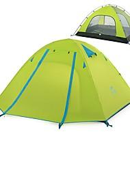 Недорогие -Naturehike 3 человека Туристические палатки Двухслойные зонты Карниза Сферическая Палатка На открытом воздухе Дожденепроницаемый, Быстровысыхающий, С защитой от ветра для Походы / туризм / спелеология