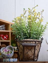 baratos -Flores artificiais 1 Ramo Rústico / Retro Plantas Flor de Mesa
