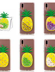 abordables -Funda Para Huawei P20 Pro / P10 Líquido Funda Trasera Brillante / Fruta Suave TPU para Huawei P20 / Huawei P20 Pro / Huawei P20 lite