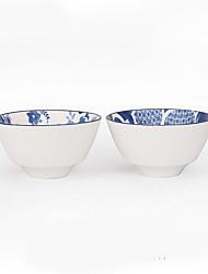 olcso -2pcs Porcelán Kreatív Étkezési tálak, étkészlet