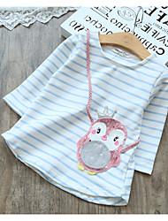 voordelige -Kinderen Meisjes Print 3/4 mouw T-shirt