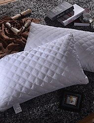baratos -Confortável-superior qualidade cama travesseiro inflável confortável travesseiro polipropileno poliéster algodão