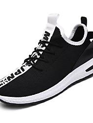 povoljno -Muškarci Cipele Prozračan Mesh Ljeto Udobne cipele Atletičarke tenisice Hodanje Obala / Crn / Crvena