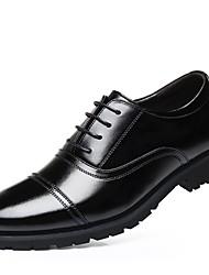 billiga -Herr Formella skor Läder Vår Oxfordskor Svart