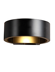 cheap -Modern 5W LED Wall Lamp AC85-265V Round Fashion Metal Sconce Bedroom Decorate Wall Lights