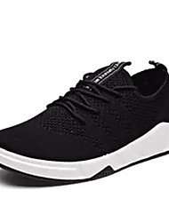 cheap -Men's Rubber Spring / Summer Comfort Athletic Shoes White / Black / Gray