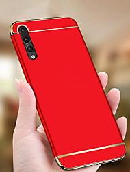 abordables -Coque Pour Huawei P20 Pro / P20 lite Plaqué / Ultrafine Coque Couleur Pleine Dur PC pour Huawei P20 / Huawei P20 Pro / Huawei P20 lite / P10 Plus / P10 Lite / P10