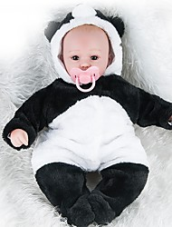 cheap -NPKCOLLECTION Reborn Doll Baby Girl 18 inch Silicone Kid's Unisex Gift