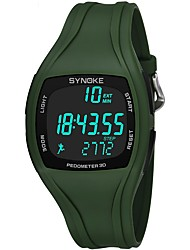 cheap -Men's Sport Watch Chronograph / Water Resistant / Water Proof / Noctilucent PU Band Casual Black / White / Green