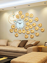 cheap -Modern / Contemporary Glass / Metal Indoor,AA Wall Clock