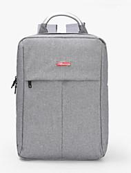 baratos -Homens Bolsas Algodão / Poliéster mochila Ziper Cinzento Claro / Bronze / Azul Real