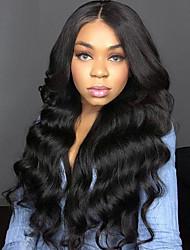 Недорогие -3 Связки Бразильские волосы Волнистый 8A Натуральные волосы Человека ткет Волосы Накладки из натуральных волос Естественный цвет Ткет человеческих волос Лучшее качество Горячая распродажа