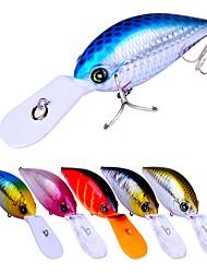 cheap -6pcs pcs Crank / Fishing Lures Hard Bait / Crank Plastic Outdoor Bait Casting / Lure Fishing / General Fishing