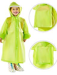 cheap -EVA Girls' / Boys' High quality, formaldehyde free / Recyclable / No smell Rain Coat