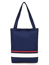 cheap -Women's Bags Canvas Tote Zipper White / Black / Blushing Pink