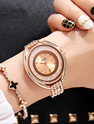 cheap -Women's Dress Watch / Wrist Watch Chinese New Design / Casual Watch / Imitation Diamond Alloy Band Luxury / Fashion Silver / Gold / Rose Gold / Sony SR920SW / Two Years