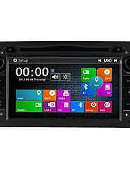 economico -Factory OEM 7 pollice 2 Din Windows CE 6.0 Bluetooth integrato / GPS / RDS per Opel Supporto / Schermo touch / DVD-R / RW / CD-R / RW
