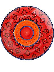olcso -1 db Porcelán Kreatív / Menő Étkezési tálak, étkészlet