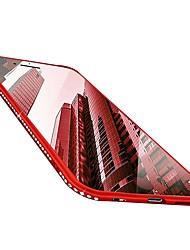 Недорогие -Кейс для Назначение Apple iPhone X / iPhone 8 Стразы / Ультратонкий / Сияние и блеск Кейс на заднюю панель Однотонный Мягкий ТПУ для iPhone X / iPhone 8 Pluss / iPhone 8