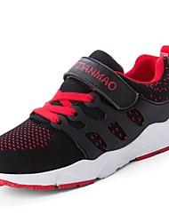abordables -Chico Zapatos Punto / Tul Primavera verano Confort / Suelas con luz Zapatillas de deporte para Niños Morado / Azul / Negro / Rojo