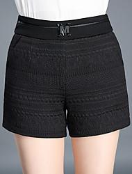 abordables -Femme Basique / Chic de Rue Short Pantalon Couleur Pleine