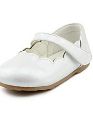 abordables -Fille Chaussures Similicuir Printemps & Automne Confort / Chaussures de Demoiselle d'Honneur Fille Ballerines La boucle du crochet pour
