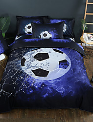 cheap -Duvet Cover Sets 3D Poly / Cotton Reactive Print Other